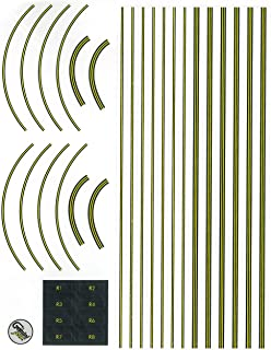 GeminiJets Graphic Decal Sheet for Airport Terminal Set