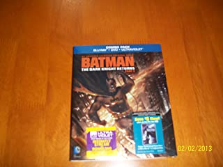 Batman The Dark Knight Returns Part 2 Combo Pack (Blu-Ray,DVD,Ultraviolet)