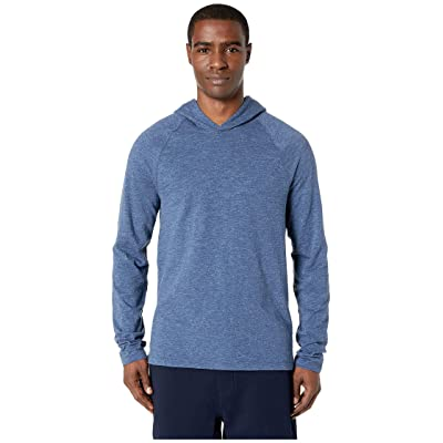 Vince Pullover Hoodie (Heathered Navy) Men