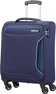 American Tourister Holiday Heat - Spinner Bagage Cabine, 55 cm, 38 L, Bleu (Navy)