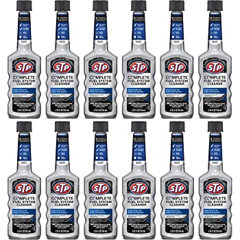 STP Fuel System Cleaner and Stabilizer, Advanced Synthetic Technology, 5.25 Fl Oz, Pack of 12, 78568-12PK