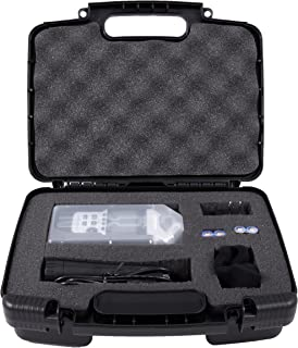 Casematix Portable Recorder Carrying Travel Hard Case with Dense Foam fits Zoom H1, H2N, H5, H4N, H6, F8, Q8 Handy Music Recorders, Charger, Mic Tripod Adapter and Accessories