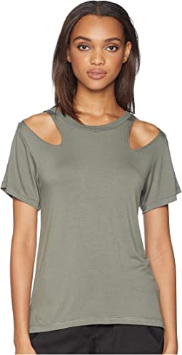 Jesse Shoulder Cut Out Tee