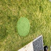 Terrasse Camping in Gr/ün Steffensmeier Kunstrasen Teppich Wembley XL als Meterware gr/üner Nadelfilz mit Noppen f/ür Balkon Gr/ö/ße: 400x800 cm