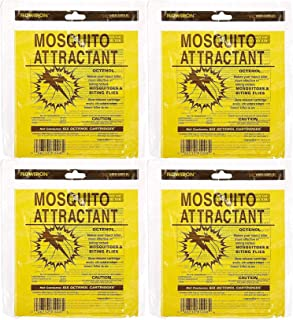 Flowtron MA-1000-6 Octenol Mosquito Attractant Cartridges (4 X Pack of 6)