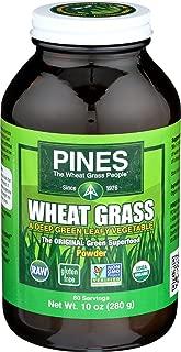 PINES Organic Wheat Grass Powder, 10 Ounce