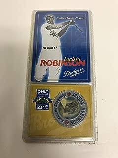 Jackie Robinson #42 Brooklyn Dodgers Collectible Coin 1947-1956 Stadium Promo SGA