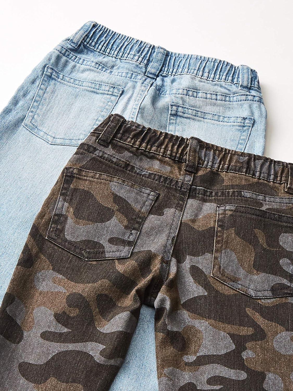 pants Ni/ños Spotted Zebra Paquete de 2 Pantalones Vaqueros El/ásticos Marca