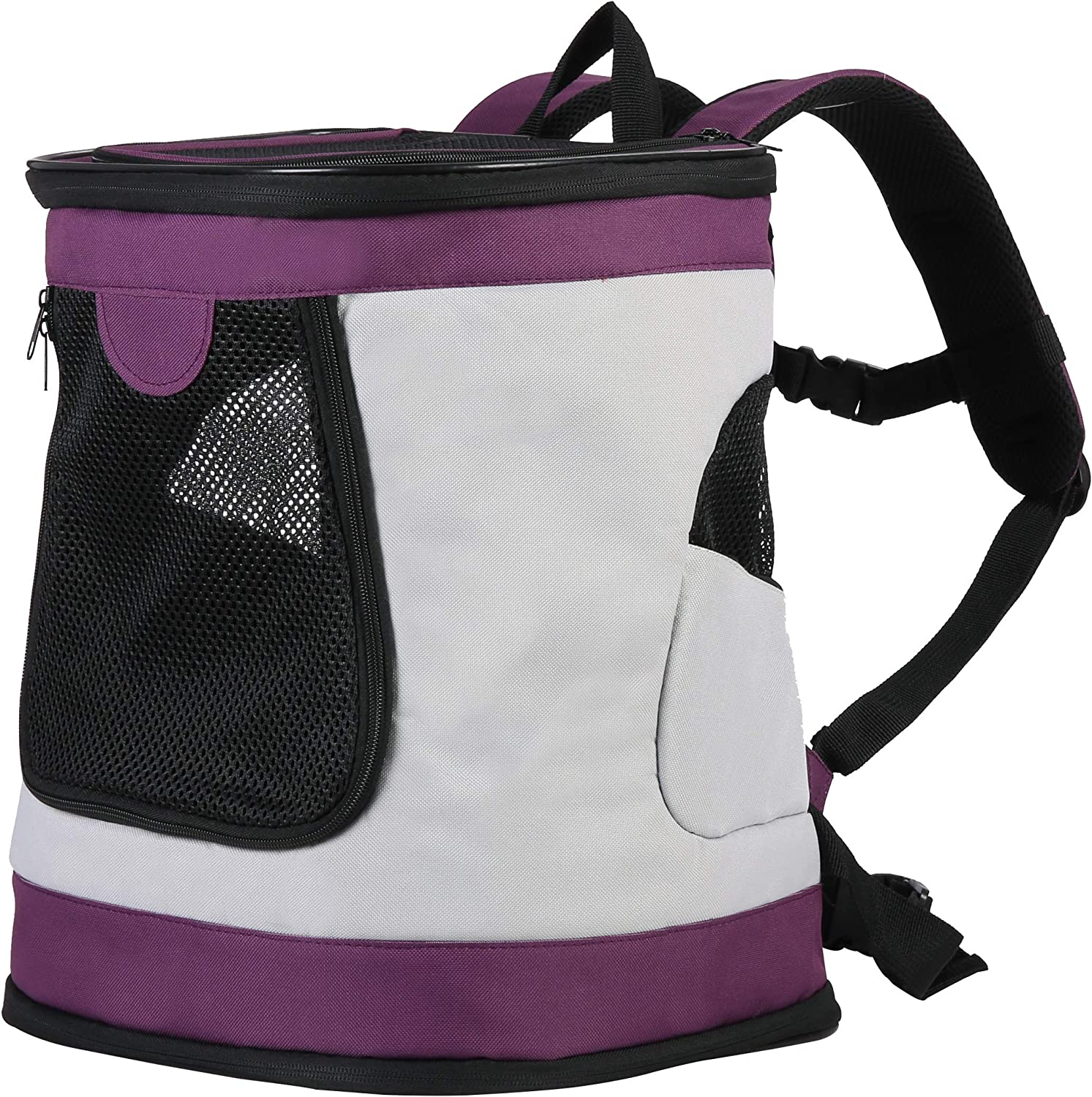 Iconic Pet 51584 Foldable Pet Backpack Carrier for Dogs & Catsup to 16 Lbs