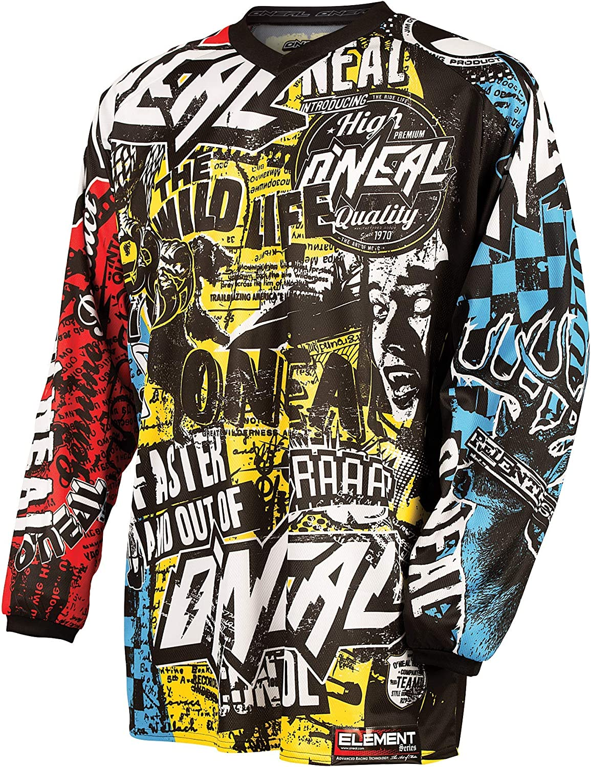 ONeal Unisex Element Jersey Bike and Motocross Gear