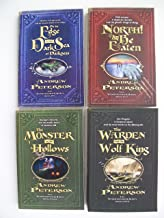 Wingfeather Saga Series (Set of 4) On the Edge of the Dark Sea of Darkness, North or Be Eaten, The Monster in the Hollows, The Warden and the Wolf King