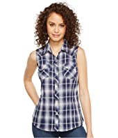 Roper - 1026 Navy and White Plaid