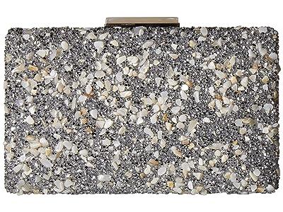 Nina Karley (Ivory/Silver) Clutch Handbags