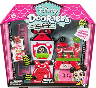 (Minnie's Sweet Cafe) - Disney Doorables S2 Themed Playset - Minnie's Sweet Cafe