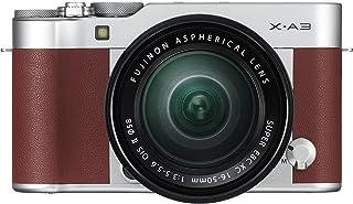 Fujifilm X-A3 Mirrorless Camera XC16-50mm F3.5-5.6 II Lens Kit-Brown