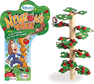 Skillmatics Newton's Tree | Fun Family Game of a Tumbling Tree | Balancing, Stacking, Strategy and Skill Building for Ages 6-99 | Gifts for Kids