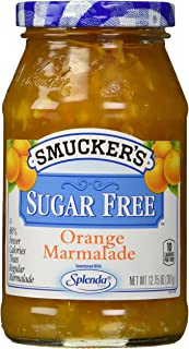 Smuckers SUGAR FREE ORANGE MARMALADE, 12.75 Ounce