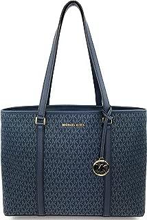 Michael Kors Large Women's Sady Carryall Shoulder Bag (Admiral)