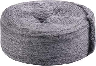JatilEr Wire Wool 0000 Fine Steel Wool Rodent Control Stops Rats and Mice Steel Wool Tool Gap Blocker Insect Pest Proofing Hardware Cloth 3.5M 2 Pack Steel Wool Mice