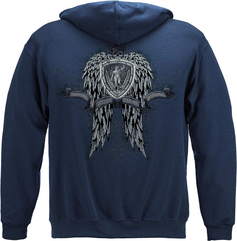 送料無料限定セール中 Thin Blue Line T Shirt - for Law お気に入 Men Enforcement Enfo Gear