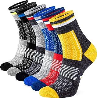 Newdora Calcetines Hombre 6 Pares Calcetines de Trabajo para Hombre y Mujer de Algodón Suaves y Cómodos Transpirables para...