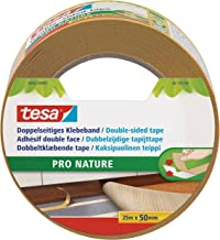 tesa Double-sided Tape ECO FIXATION, 25m x 59mm, wit