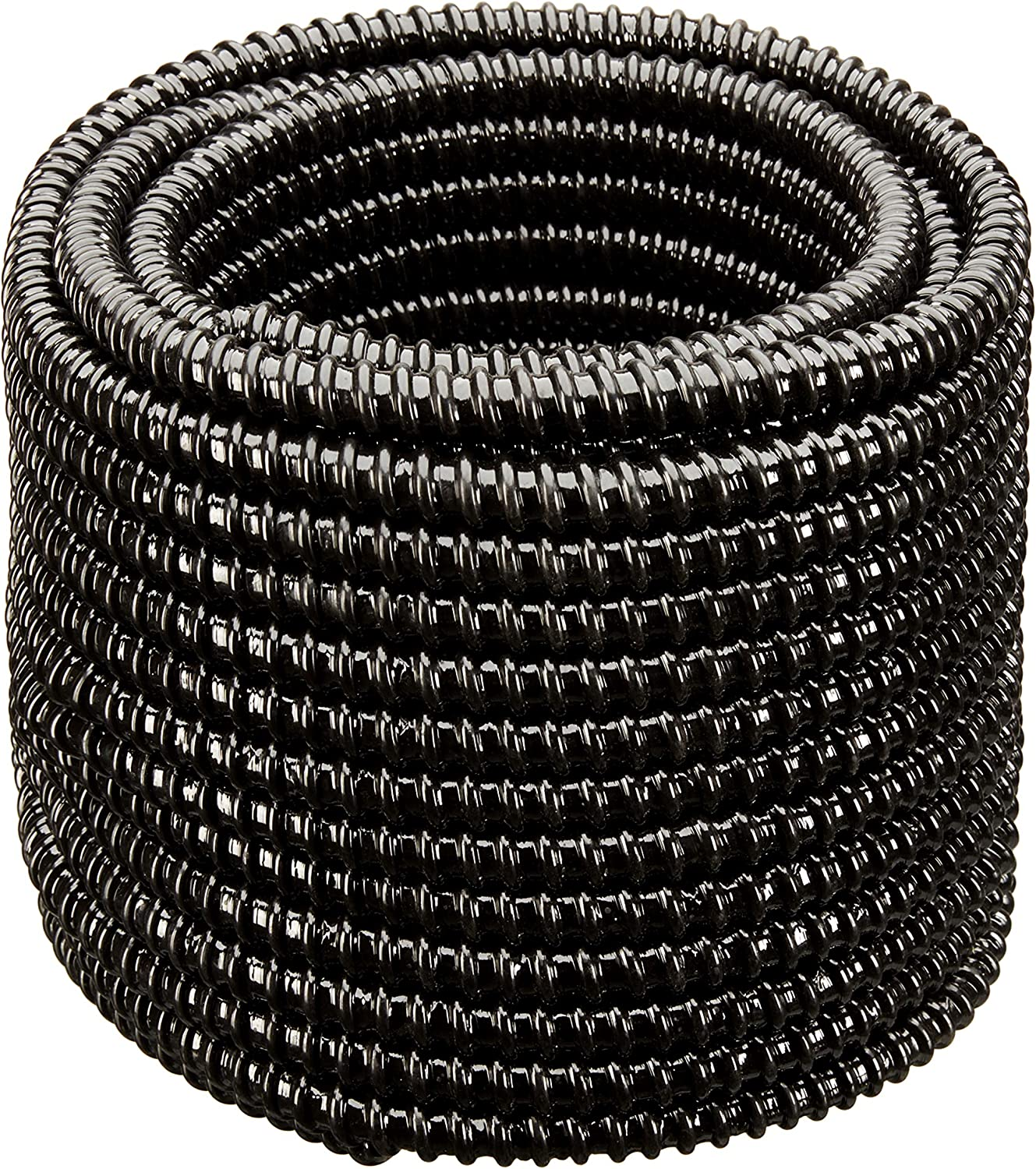 Hydromaxx Flexible Corrugated Pvc Non Split Tubing And Convoluted Wire Loom Uv Stabilized Rated For Outdoor Use 2 Dia X 25 Ft Black Home Improvement Amazon Com