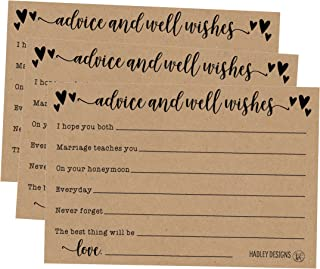 wedding guest advice cards
