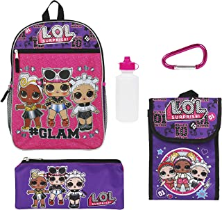 LOL Surprise Purple Back too School Essentials Set for Girls