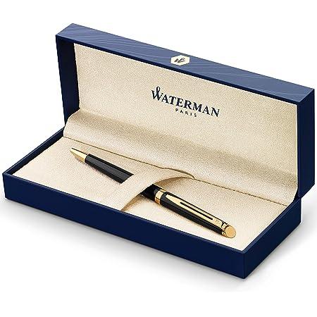 Waterman Exclusive Matte Black /& Gold  Ballpoint Pen New In Box