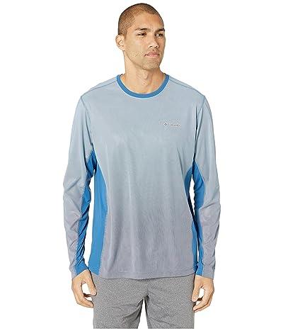 Columbia Solar Chilltm 2.0 Long Sleeve Shirt (Impulse Blue) Men