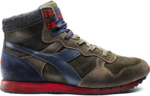 Diadora 157640 C5007 - Hauszapatos de Piel para Hombre