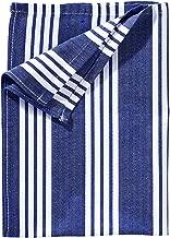 K/üchenhandtuch BUTLERS Fjord 3er Set Geschirrtuch 50x70 in Hellblau mit Muster Sp/ültuch 100/% Baumwolle