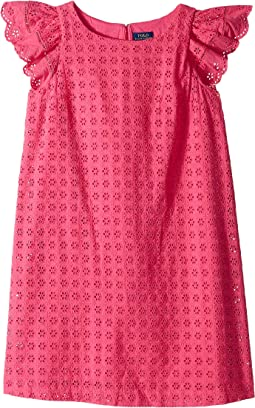 Eyelet Woven Dress (Big Kids)