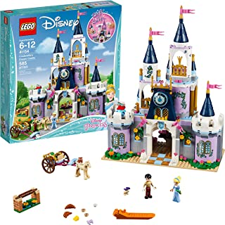 LEGO Disney Princess Cinderella's Dream Castle 41154 Popular Construction Toy for Kids (585 Pieces)