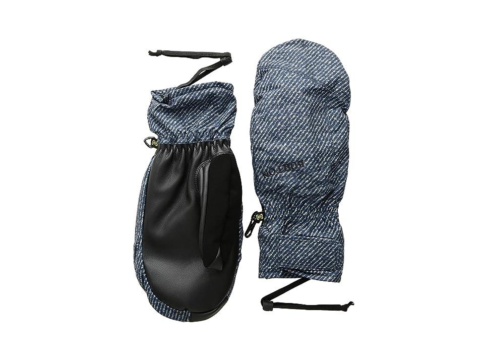 Burton Profile Under Mitt (Mood Indigo Twill) Snowboard Gloves