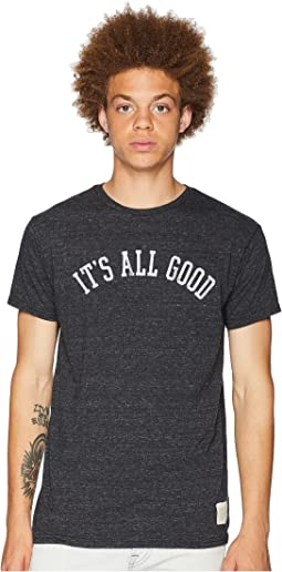 It's All Good Vintage Tri-Blend Tee