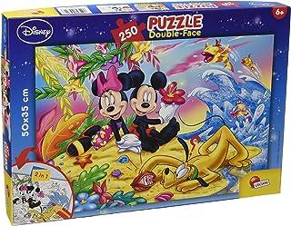 Lisciani- Disney Mickey Puzzle Recto/Verso 250 Pieces – MICKEY-48113, 48113