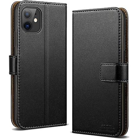 HOOMIL Coque iPhone 11 avec Emplacements pour Cartes, Fermoir Magnétique, Fonction de Support, Cuir TPU Coque Etui Housse pour iPhone 11 (6.1 Pouces), ...