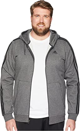 Big &Tall Essentials Cotton 3S Full Zip Hoodie