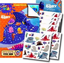 Disney Finding Dory Coloring Book with 120 Finding Dory Stickers & Bonus Under the Sea Stickers by Disney Studios