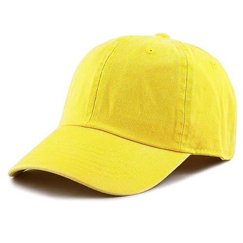 335d3764b1503 THE HAT DEPOT 100% Cotton Pigment Dyed Low Profile Six Panel Cap Hat