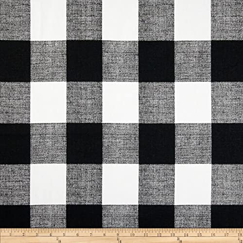 Black And White Upholstery Fabric By The Yard Amazon Com