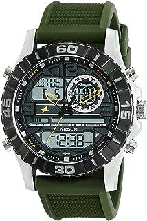 Analog-Digital Black Dial Men's Watch-NK38035SP01
