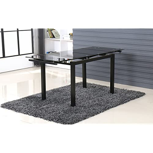 Extending Glass Dining Table And Chairs Amazoncouk