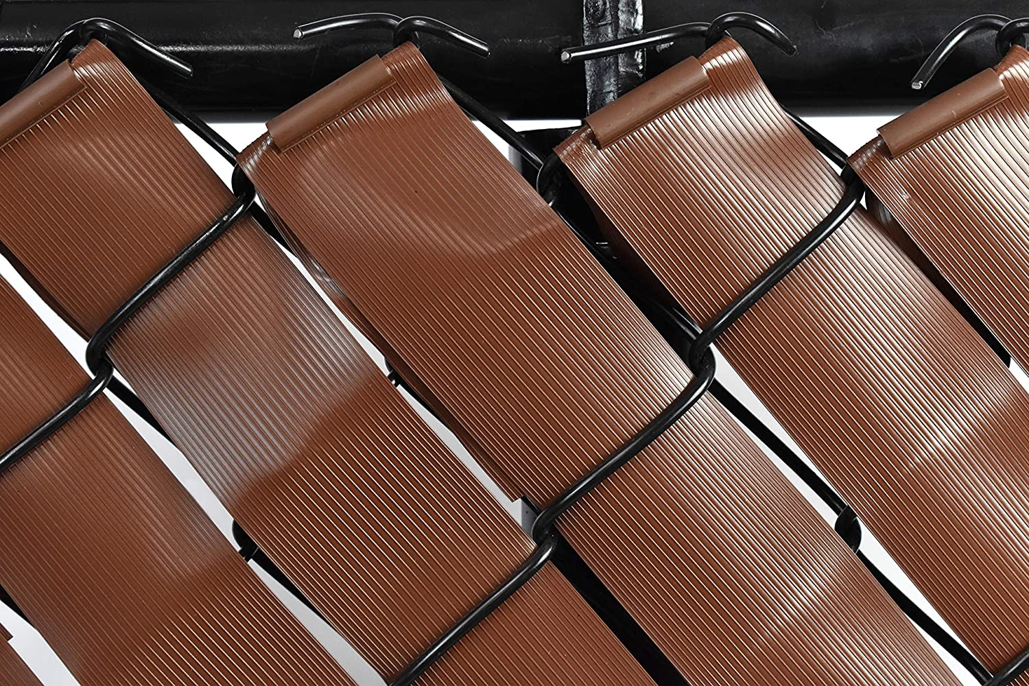 Privacy Tape for Chain - shopping Fence Link Brown Raleigh Mall