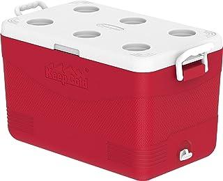 Cosmoplast Keep Cold Plastic Picnic Cooler Icebox 60 Liters