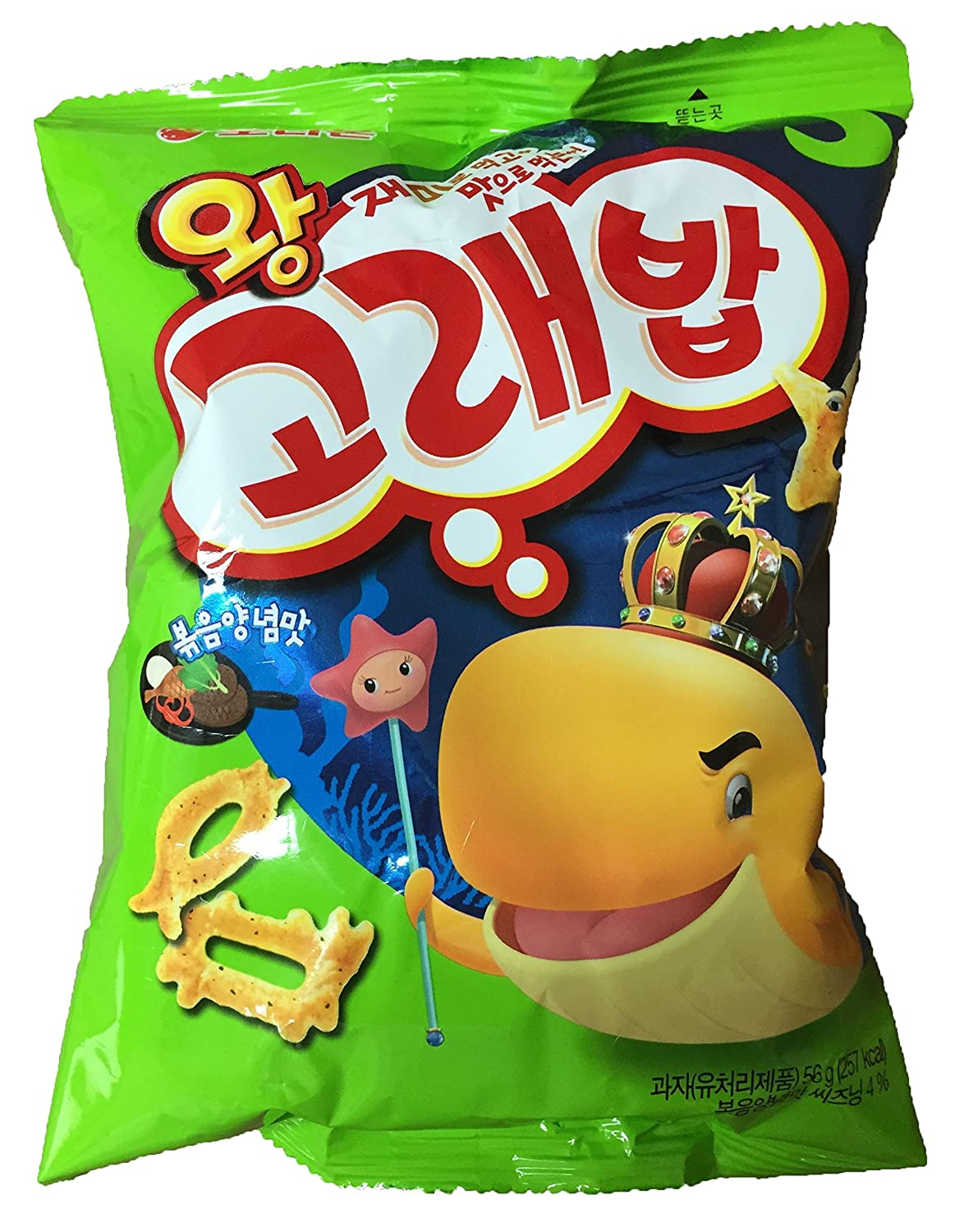 Manufacturer direct delivery Wang Year-end annual account Korebap Seasoned Snack 1 56g x Pack