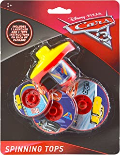 Disney Cars 3 Spinning Stacking Tops