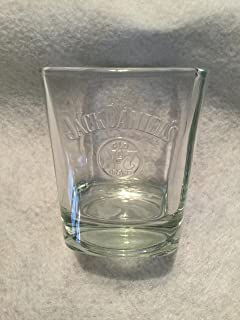 Jack Daniels Embossed Quote, Old No 7 Whiskey Glass,